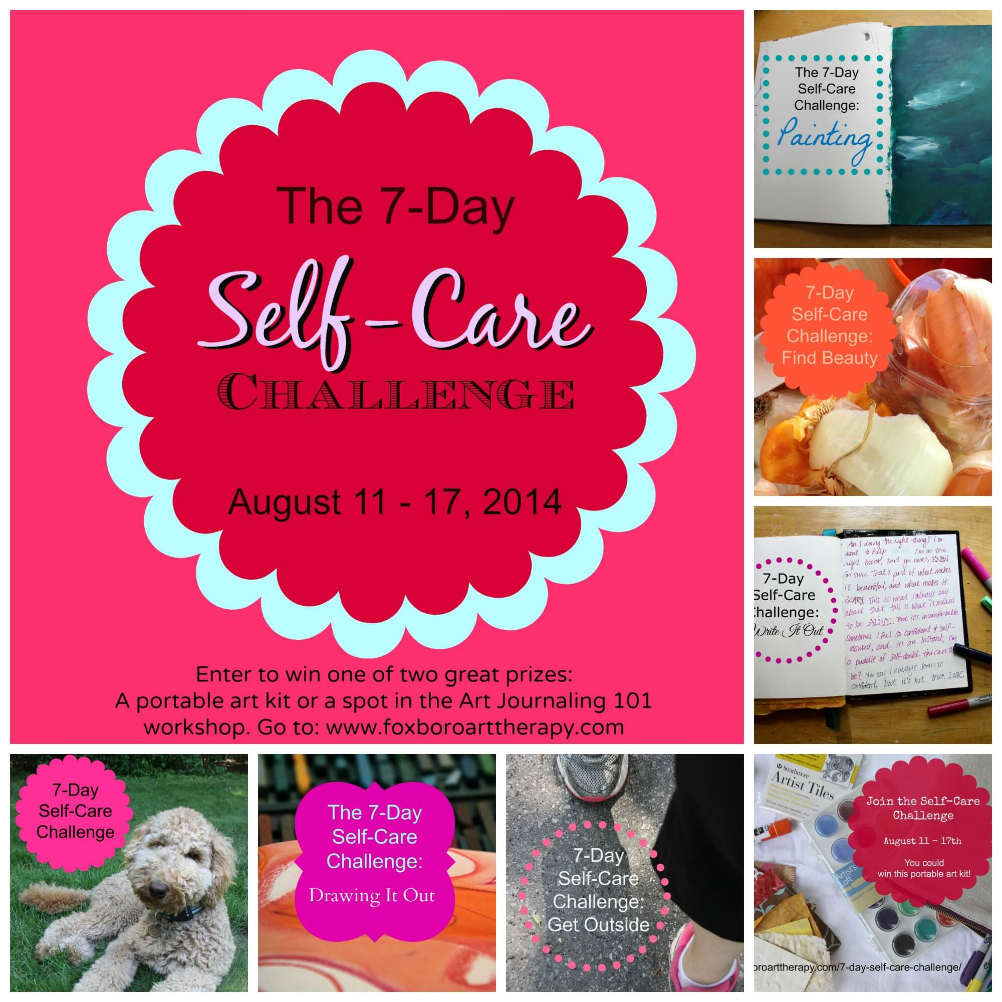 Join The 7 Day Self Care Challenge