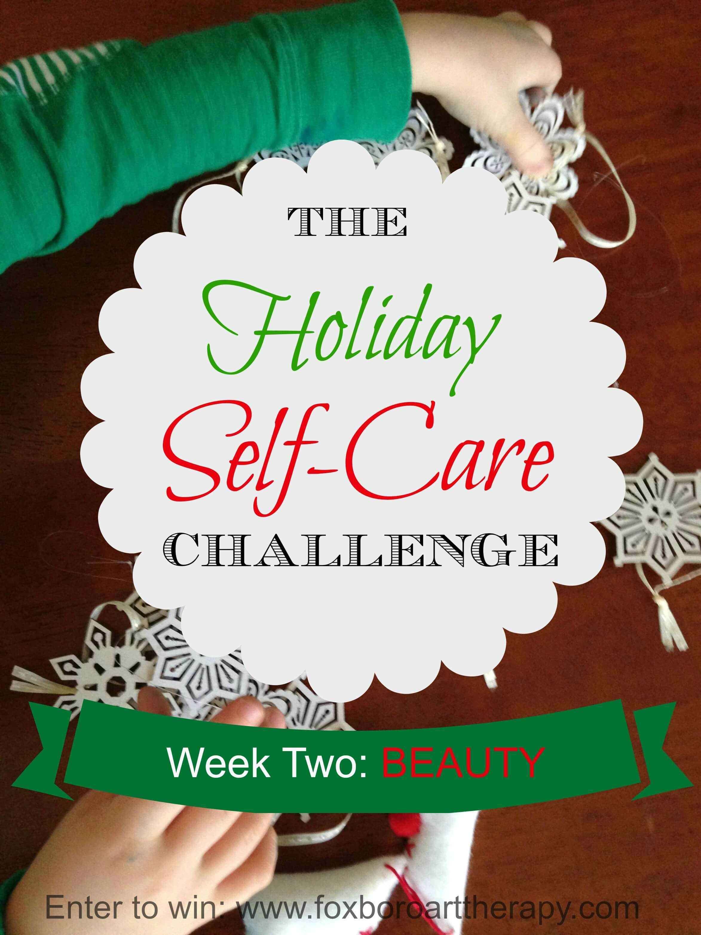 The Holiday Self Care Challenge Week 2