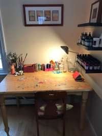 Art Studio Desk - Hostgarcia