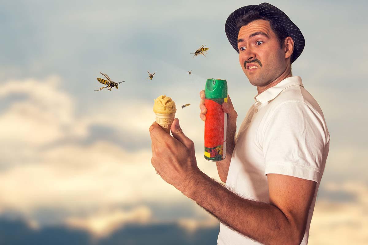 Wasp Spray for Self-Defense