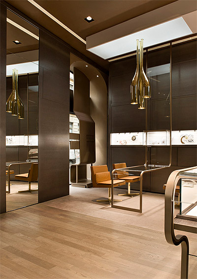 Jewelry Store Design in Milan  Commercial Interior