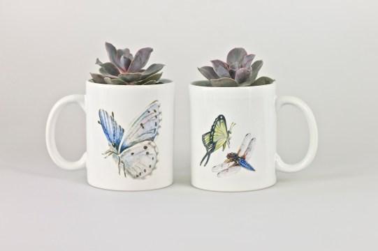 My Butterfly Mugs Paula Kuitenbrouwer