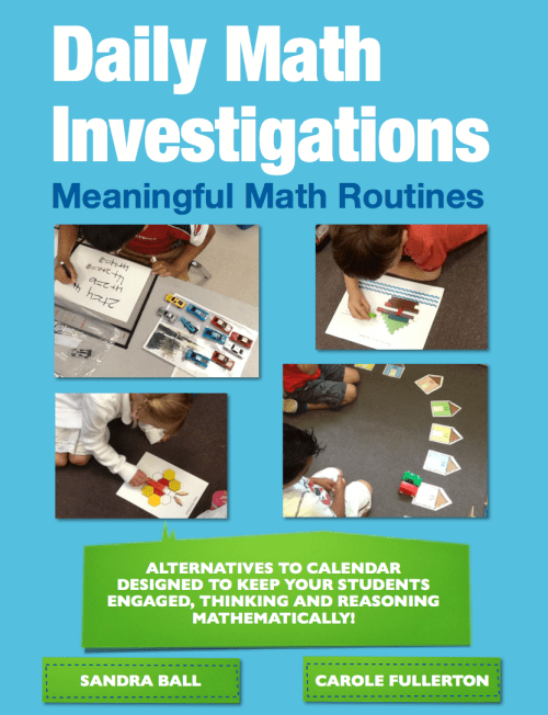 small resolution of Daily Math Investigations for K-2 – An Alternative to Calendar    Mathematical Thinking