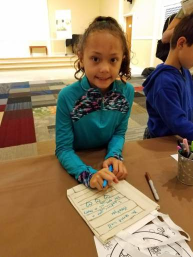 Sweet Gaby at Veterans Day Event