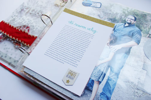 Holiday Album Part 2 | What to do with all those Holiday Cards? (3/6)