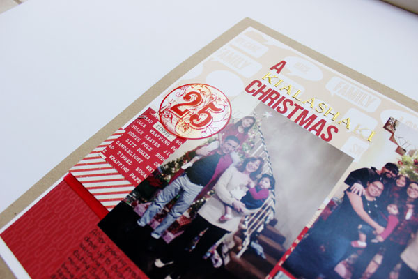 Holiday Album Part 2 | What to do with all those Holiday Cards? (2/6)