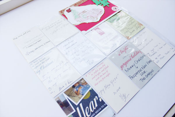 Holiday Album Part 2 | What to do with all those Holiday Cards? (6/6)