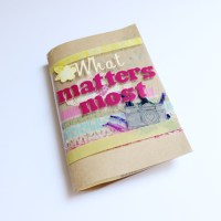 What Matters Most | My First Minibook