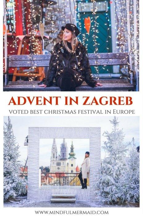Advent in Zagreb, best Christmas festival in europe. Zagreb guide, what to do in Zagreb, Zagreb winter, European Christmas markets, Holidays Europe.