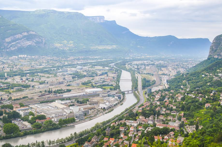 Grenoble, France view
