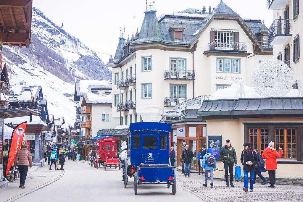 Zermatt Town Switzerland