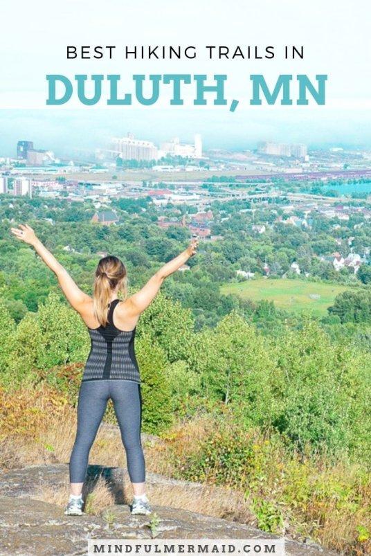 The Best Hiking Trails in Duluth, Minnesota. #NorthShore #LakeSuperior #Minnesota #Hiking #adventure3