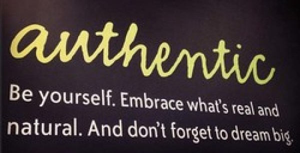 Be Fearlessly authentic header image