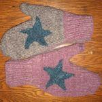 Handmade Sweater Mittens