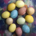 Tips from the Easter Bunny on Natural Egg Dyeing