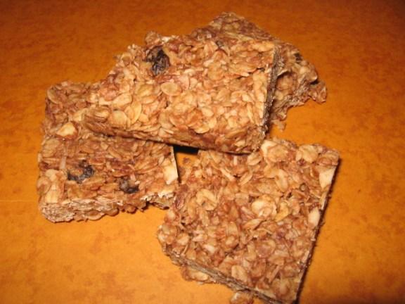how to make easy homemade granola bars