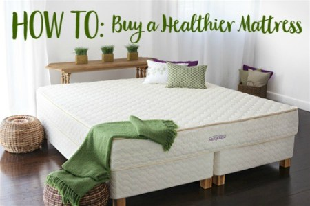 How to Buy a Healthier Mattress // www.mindfulmomma.com