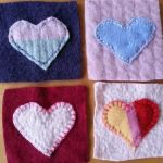 DIY Felted Sweater Coasters