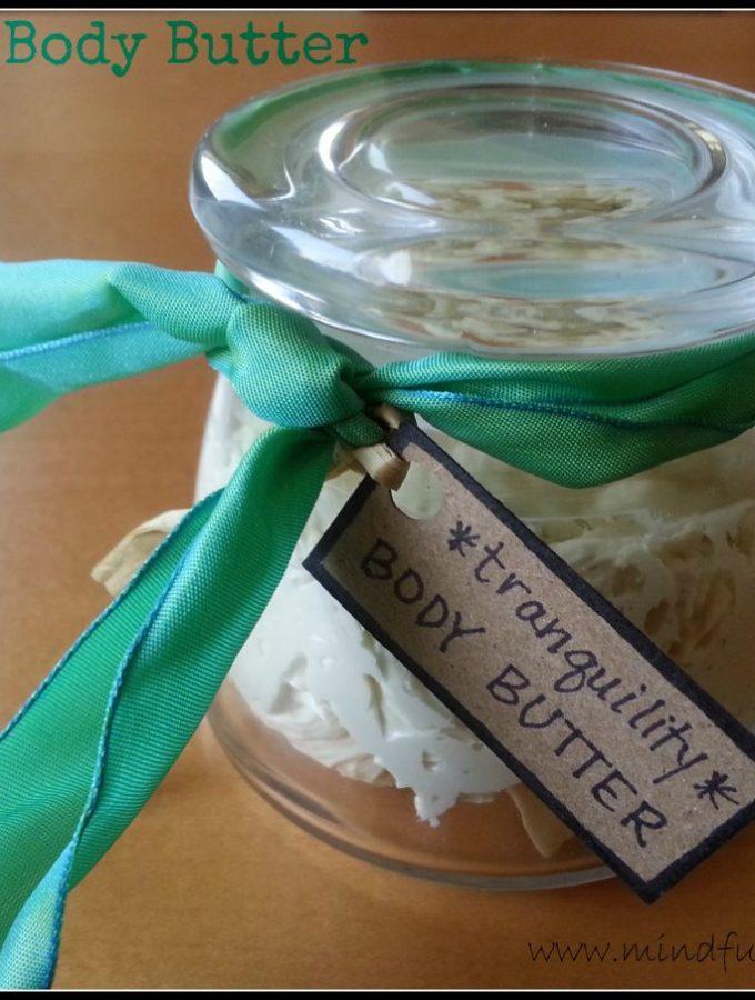 Tutorial: Homemade Whipped Body Butter
