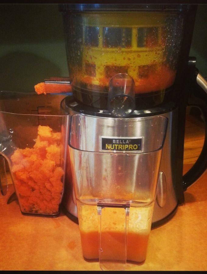 NutriPro cold press juicer www.mindfulmomma.com