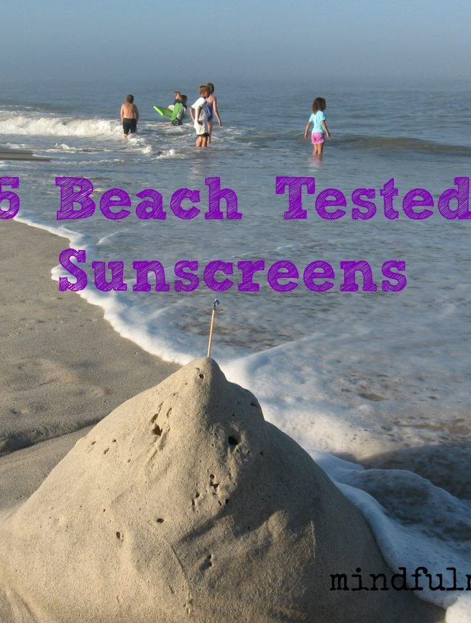 5 Beach Tested Sunscreens