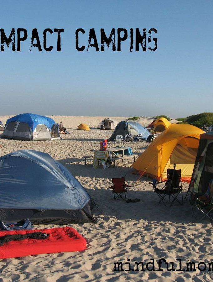 6 Tips for Low Impact Camping