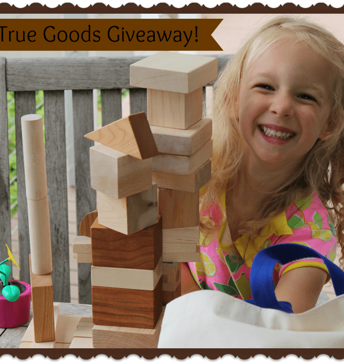 Consciously Curated Gifts from True Goods {Giveaway!}