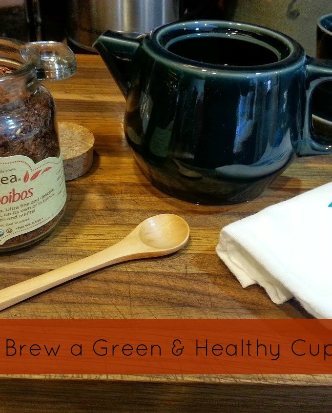 How to Brew a Green & Healthy Cup of Tea {Giveaway!}