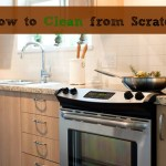 4 Recipes for Cleaning from Scratch {Giveaway!}