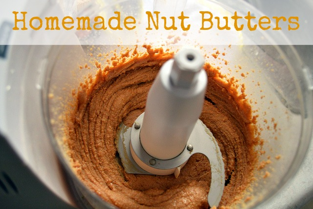5 Easy Homemade Nut Butters
