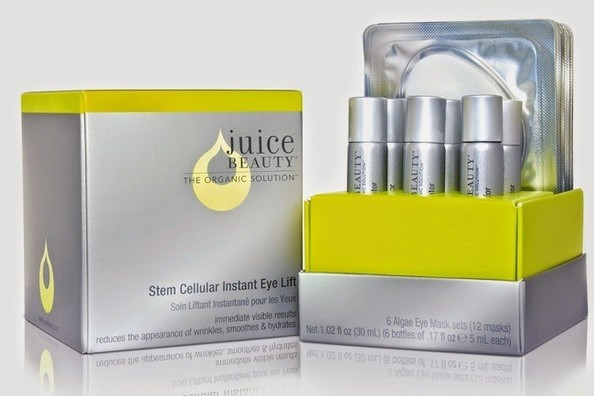 Juice Beauty instant eye lift via mindfulmomma.com