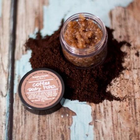 Moody Sisters Coffee Body Polish via mindfulmomma.com