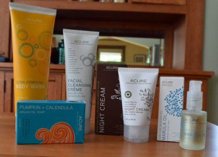 Better winter skin care from Acure via mindfulmomma.com