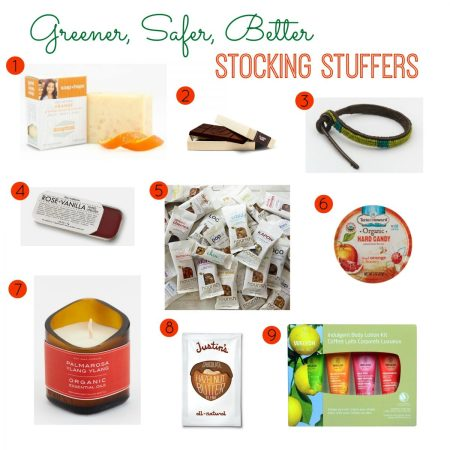 Greener, Safer, Better Stocking Stuffers