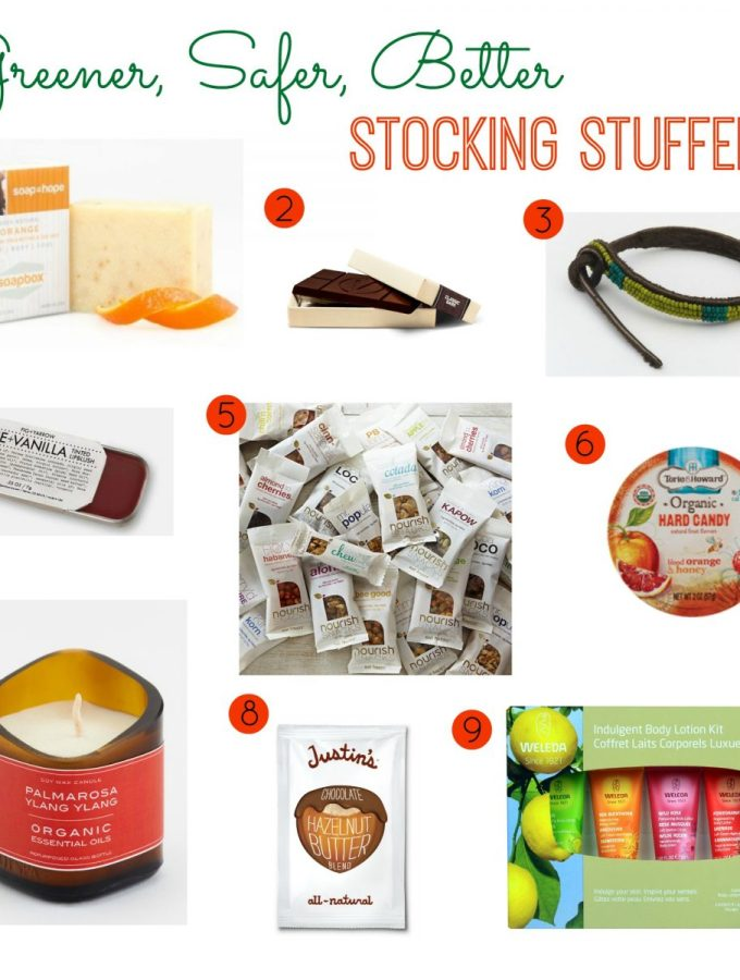 Greener, Safer, Better Stocking Stuffers for Grownups