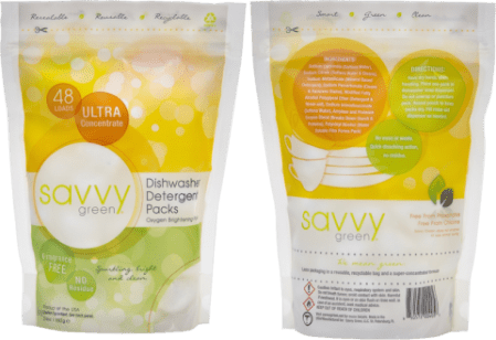 Savvy Green cleaning products via mindfulmomma.com