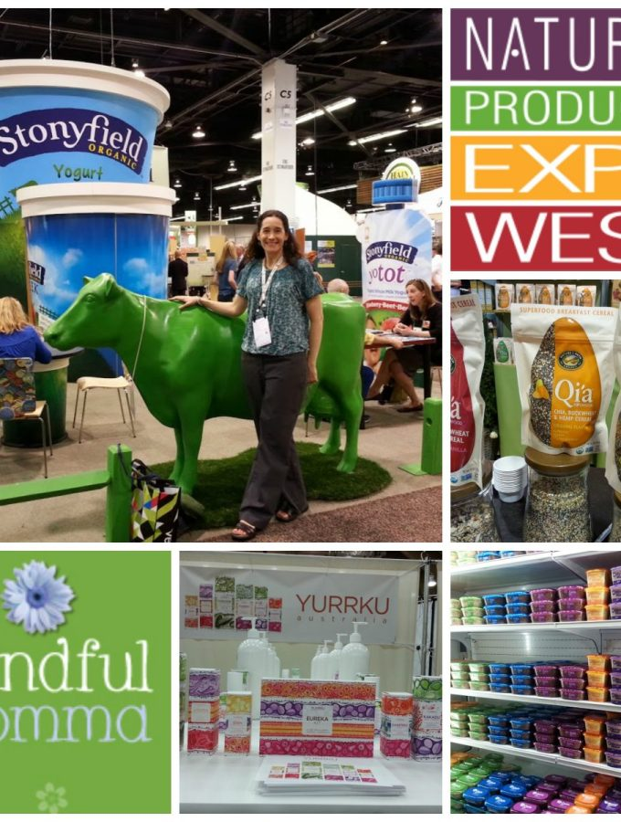 Expo West 2015 coverage on mindfulmomma.com