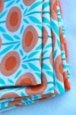 organic cotton napkins from Etsy via mindfulmomma.com