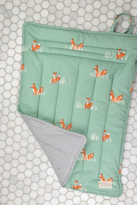 Organic Cotton Changing Mat and Other Eco Friendly Baby Gifts
