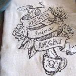 Ecotopia tea towel