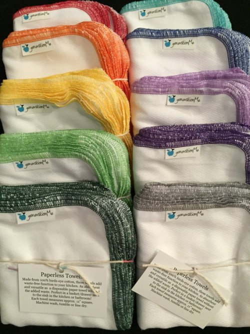 Reusable Towels (UnPaper Towels) and Other Practical, Reusable Gifts