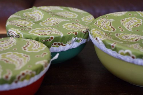 Reusable bowl covers and other practical, reusable gifts
