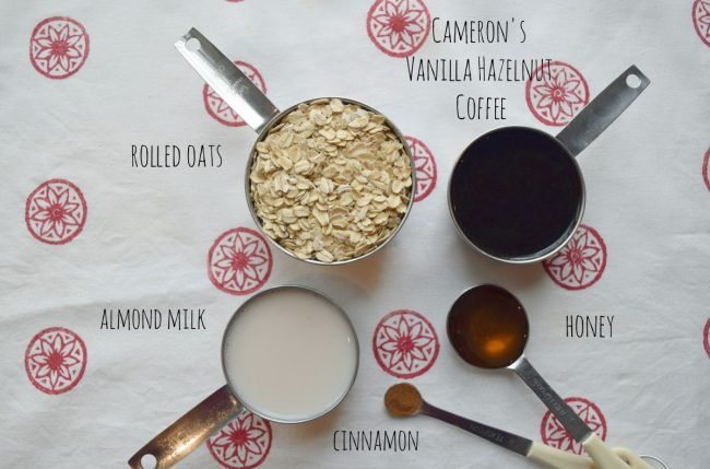 Vanilla Hazelnut Overnight Joltmeal