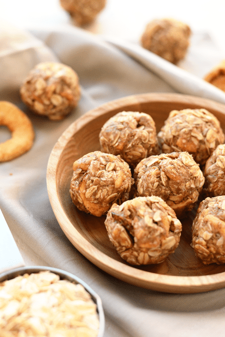 Apple Chai Energy Balls by Fit Foodie Finds