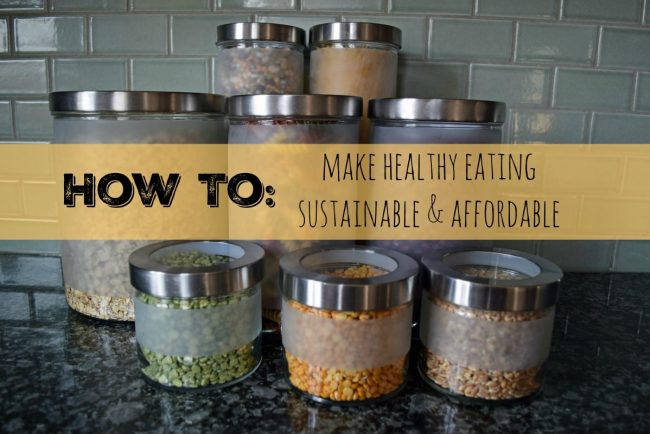 How To Make Healthy Eating Sustainable & Affordable // www.mindfulmomma.com