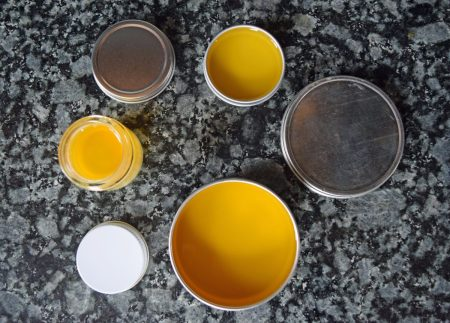 How to Make Lavender Calendula Skin Balm // www.mindfulmomma.com