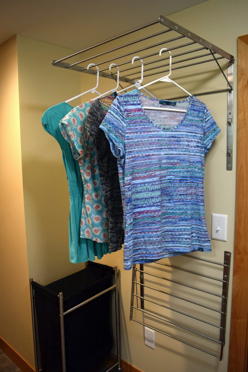 Clothes Drying Ideas ~ How to make your laundry room more sustainable and efficient