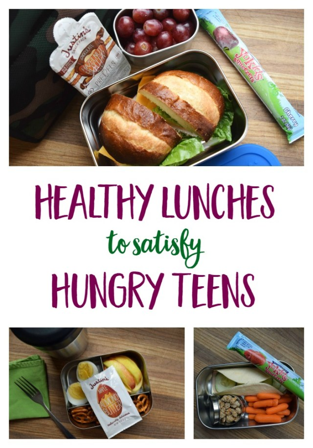 Healthy Lunches for Hungry Teenagers // www.mindfulmomma.com