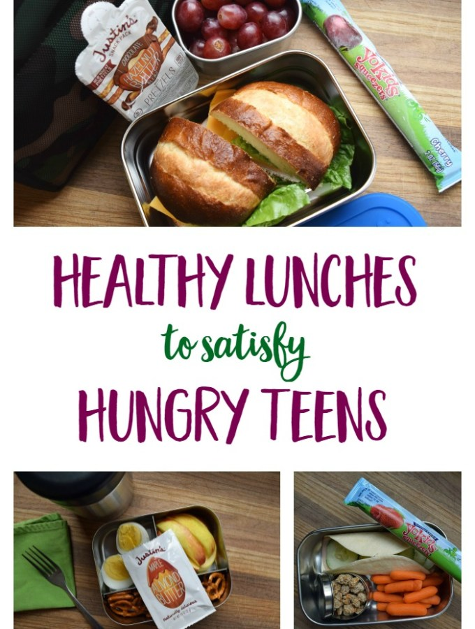 Healthy School Lunches for Hungry Teenagers