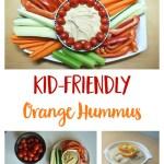 Kid-Friendly Orange Cumin Hummus